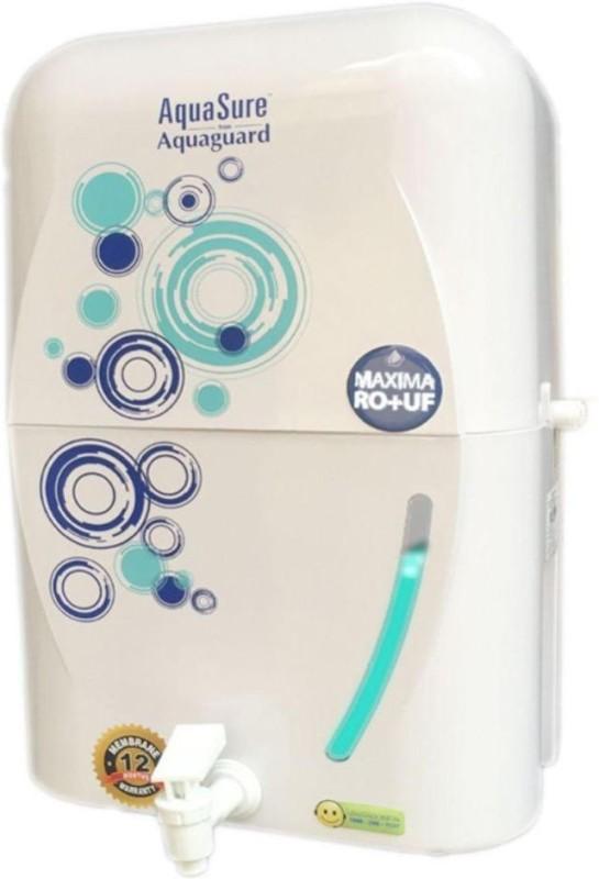 Eureka Forbes AQUAGUARD FROM AQUASURE MAXIMA RO+UF 6 L RO + UF Water Purifier(White)