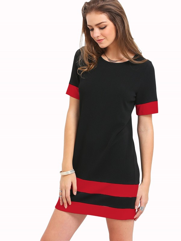 Rudra Enterprise Women's Bodycon Black Dress
