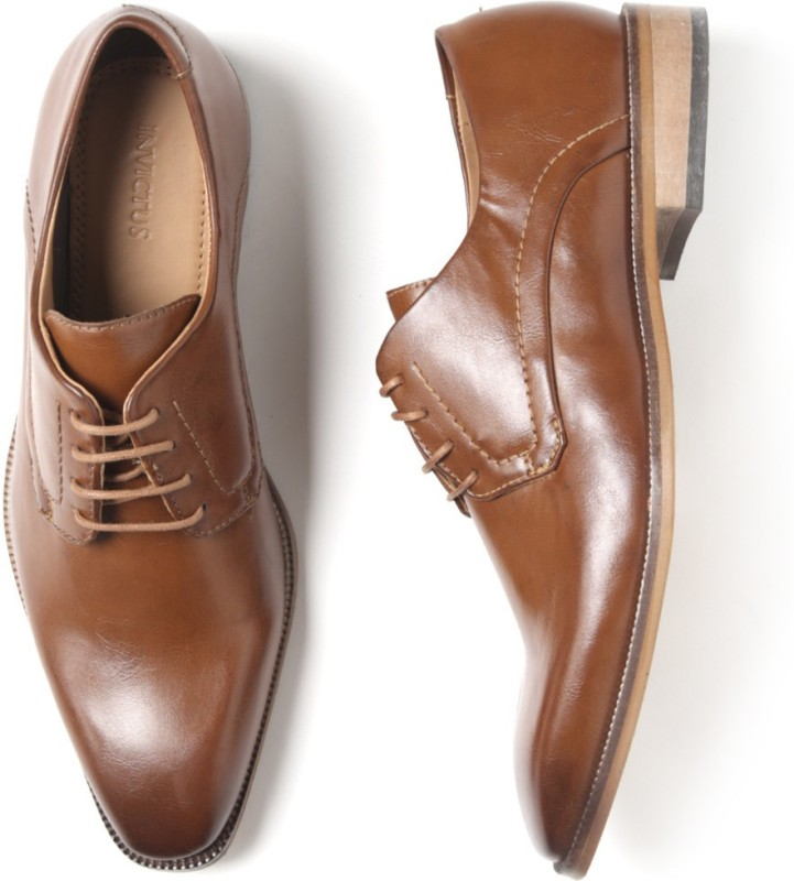 Invictus Lace Up For Men(Tan)