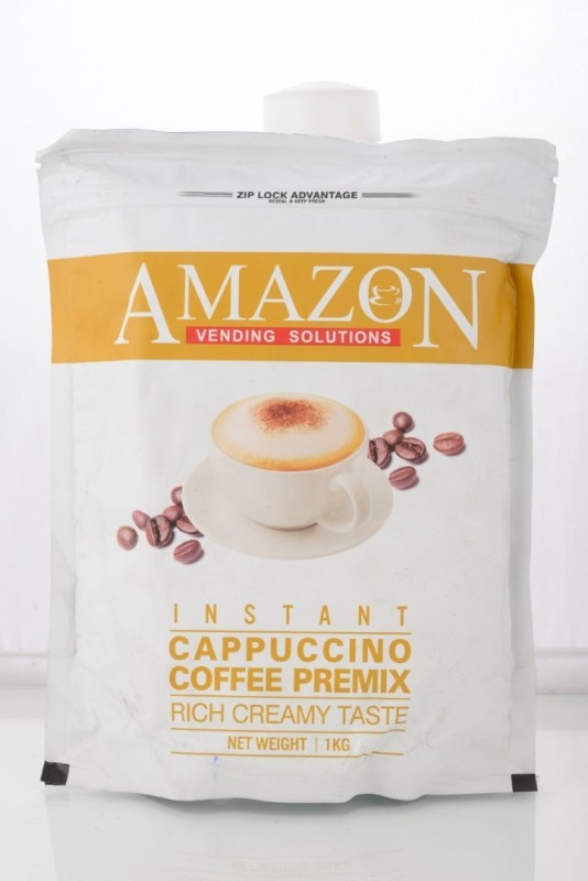 Amazon INSTANT CAPPUCCINO COFFEE PREMIX Instant Coffee 1 kg(Chikory Flavoured)