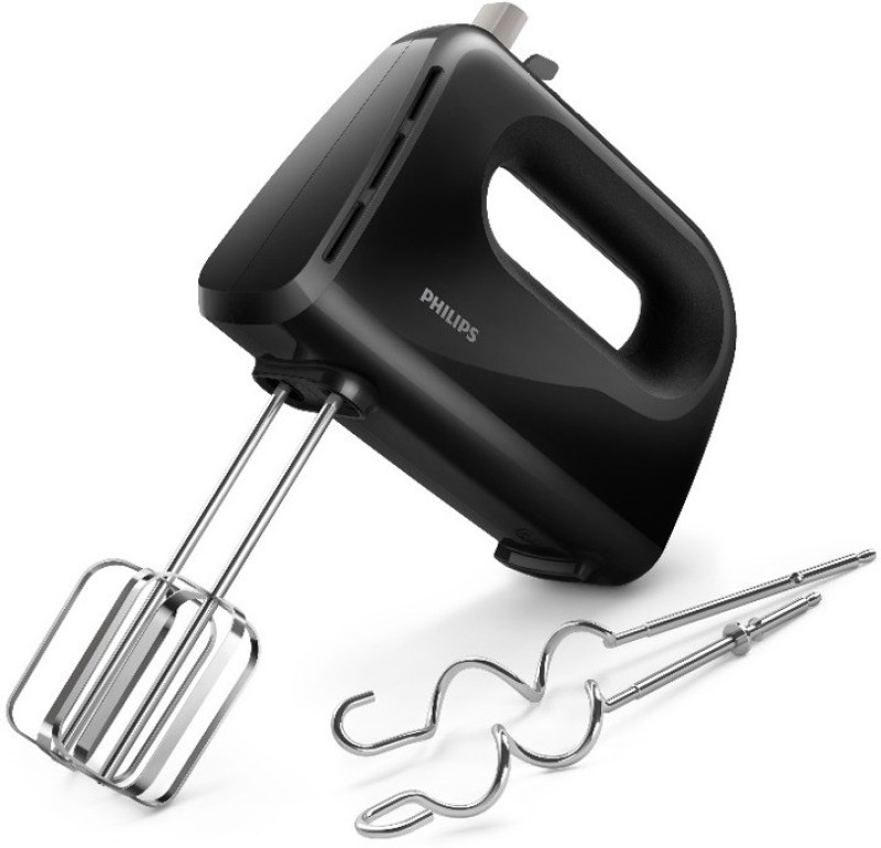 Philips Daily Collection HR3705/10 Hand Mixer 300 W Hand Blender(Black)