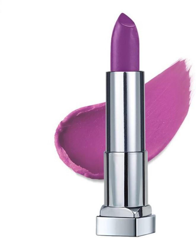 MAYBELLINE NEW YORK Color Sensational Creamy Matte(681 Vibrant Violet, 3.9 g)