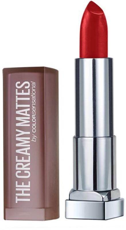Maybelline Color Sensational Creamy Matte(643 Cosmopolitan Red)