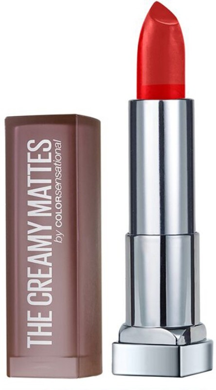 Maybelline Color Sensational Creamy Matte(640 Red Liberation)