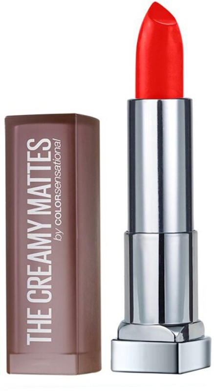 Maybelline Color Sensational Creamy Matte(633 Firecracker Red)