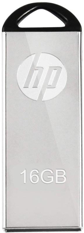 HP V220W-16 16 GB Pen Drive(Silver)