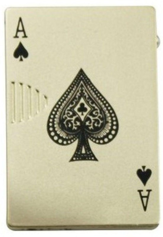 Pia International EKA-001 POKER - EKKA WITH UV Pocket Lighter(SiLVER)