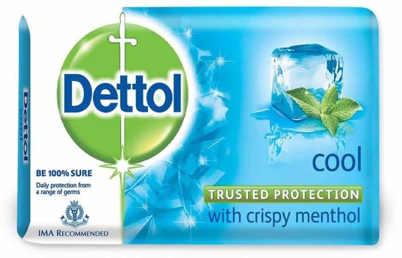 dettol _Dettol _Cool_Soap 75g (Pack of 4)(125 g, Pack of 4)