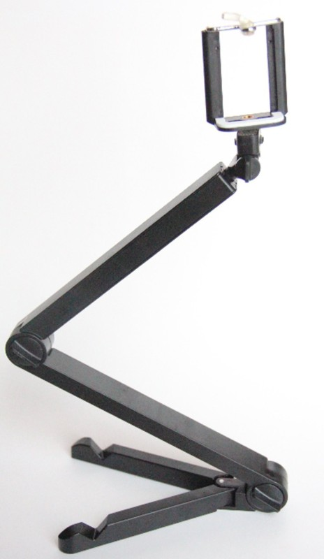OLECTRA Multipurpose 3 in 1 Phone Bracket, Selfie Stick & Tablet Stand fold Series Laboratory Tripod Stand