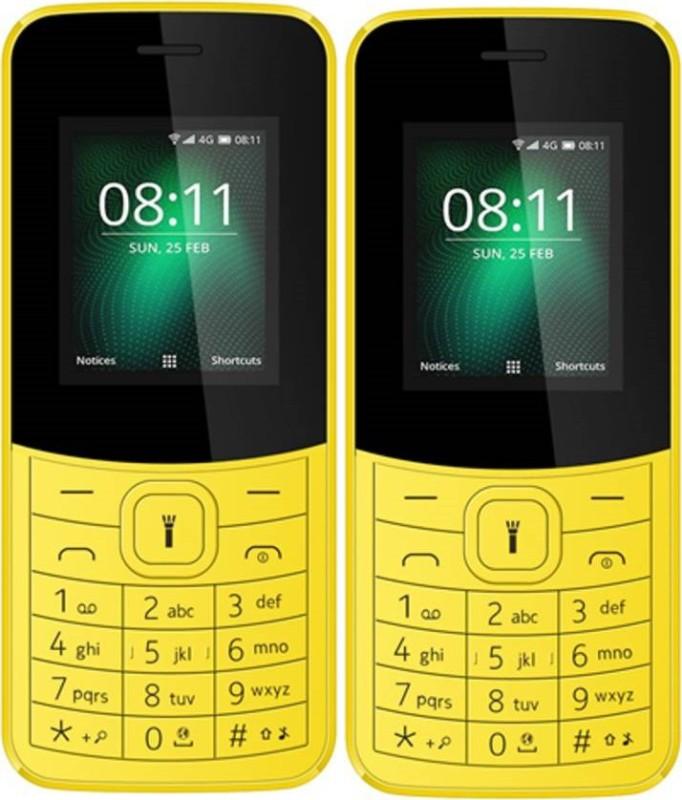 I Kall K38 (Combo of 2)(Yellow)