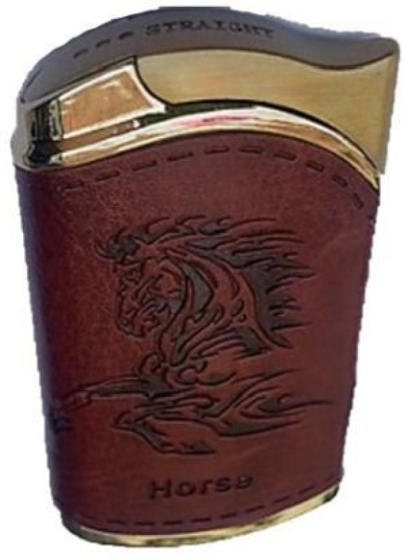 TARGET PLUS HORSE UNIQUE Pocket Lighter(LEATHER)