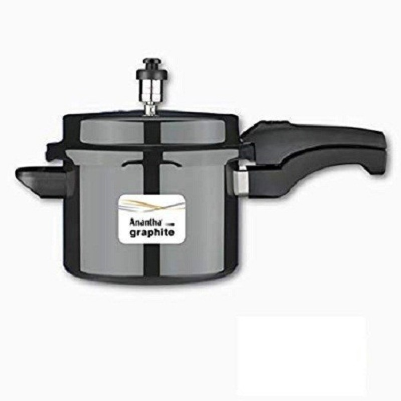 Anantha Anodized Graphite Pressure Cookers 7.5 Pressure Cooker(Hard Anodized)