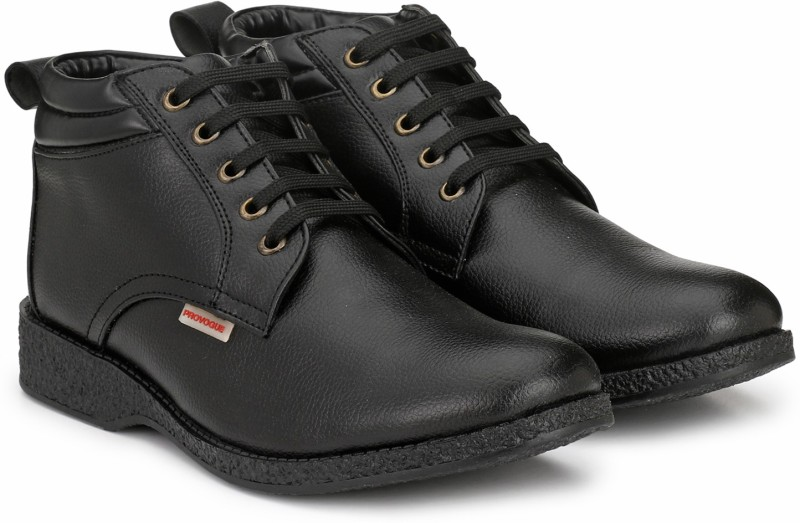 Provogue PRO-CAP-AW1016 Boots For Men(Black)