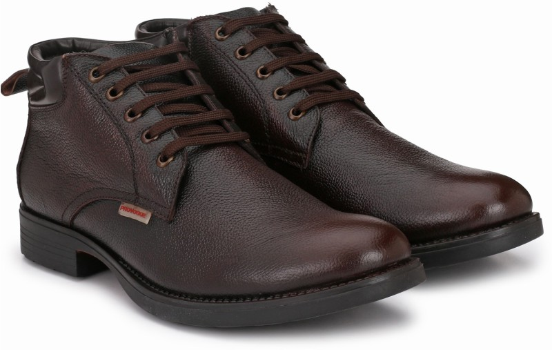 Provogue PRO-CAP-AW1009 Boots For Men(Brown)