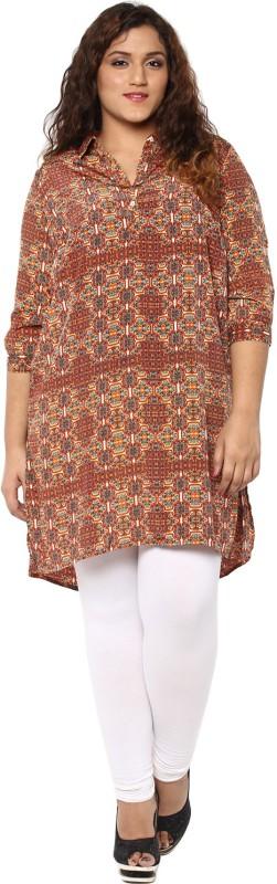 Alto Moda by Pantaloons Geometric Print Women Tunic