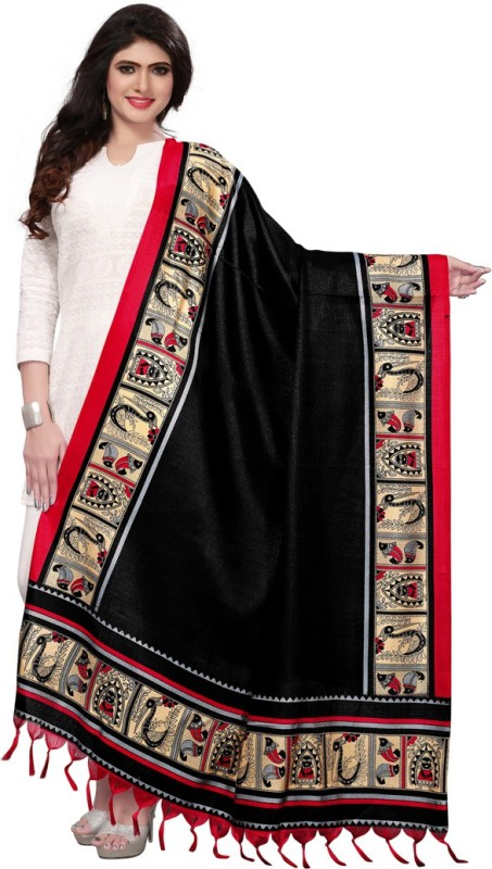 Saara Art Silk Printed Women Dupatta