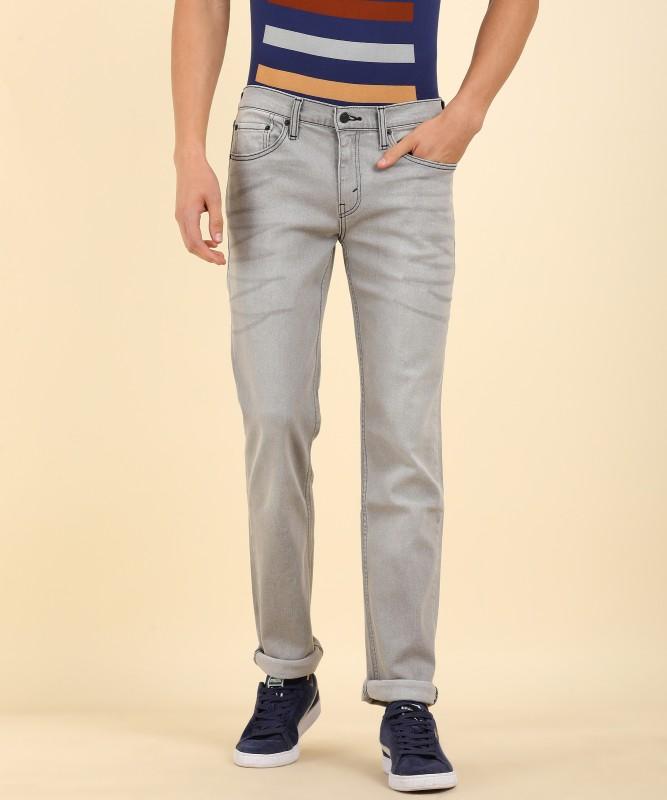 Levi's Slim Men's Light Blue, White Jeans