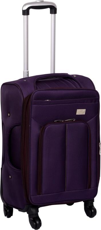 Trekker EXPANDABLE Waterproof Trolley(Purple, 20 inch)
