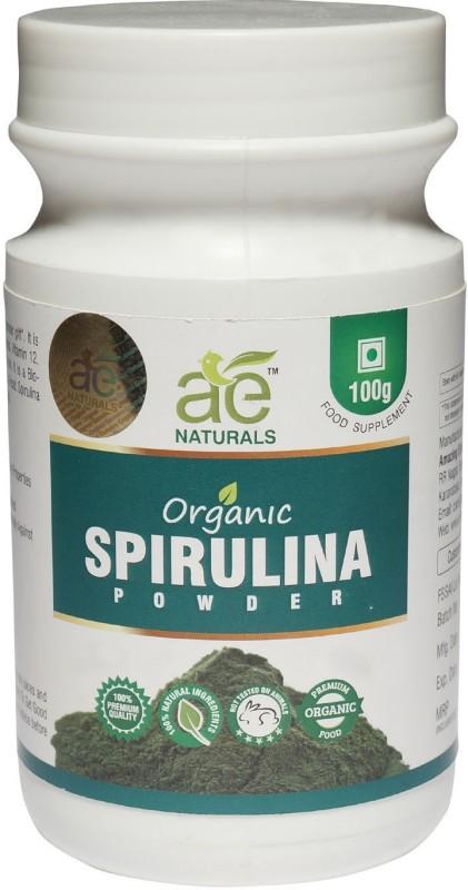 Ae Naturals Pure Organic Spirulina Powder 100g(100 g)