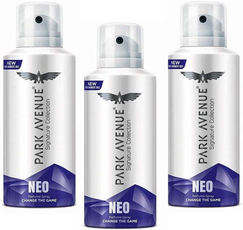 Park Avenue NEO Signature Perfume Spray 140 ml × 3 Pack Of Three Perfume Body Spray - For Men & Women(140 ml, Pack of 3)