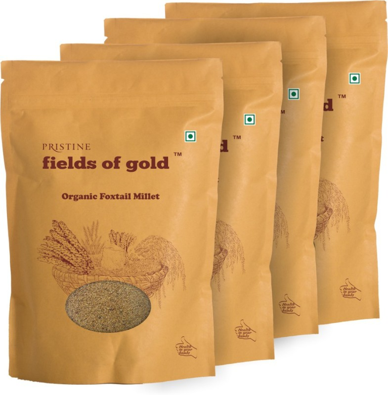 Fields of Gold Organic Foxtail Millet(500 g, Pack of 4)