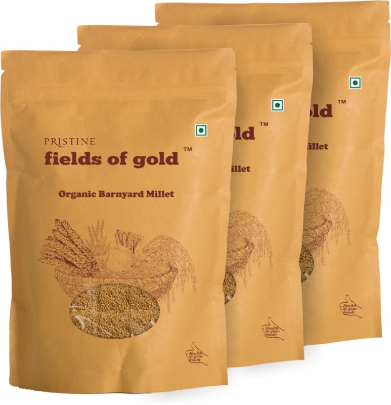 Fields of Gold Organic Barnyard Millet(500 g, Pack of 3)