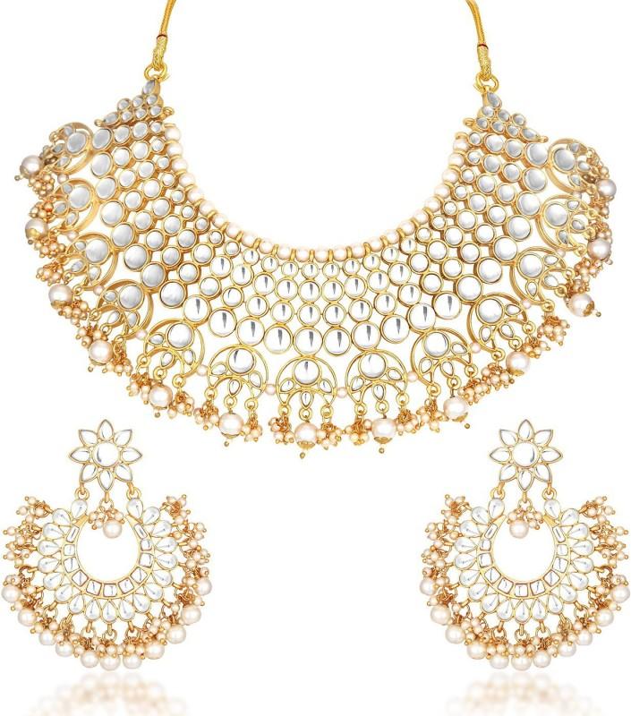Trushi Alloy Jewel Set(Gold)