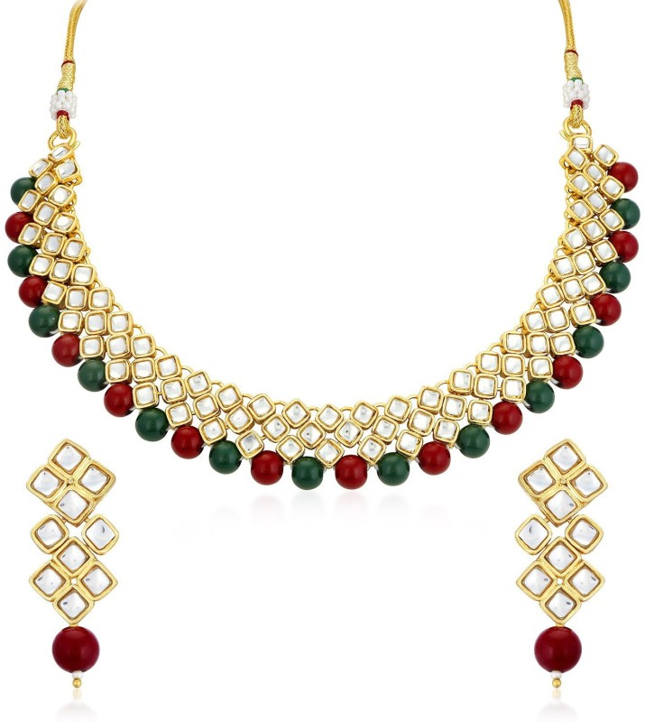 Trushi Alloy Jewel Set(Multicolor)