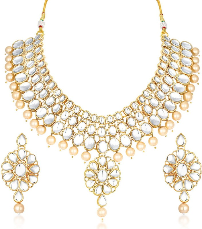 Trushi Alloy Jewel Set(Gold)