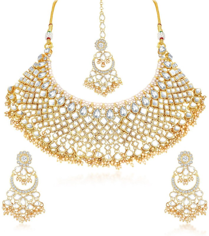 Trushi Alloy Jewel Set(White)