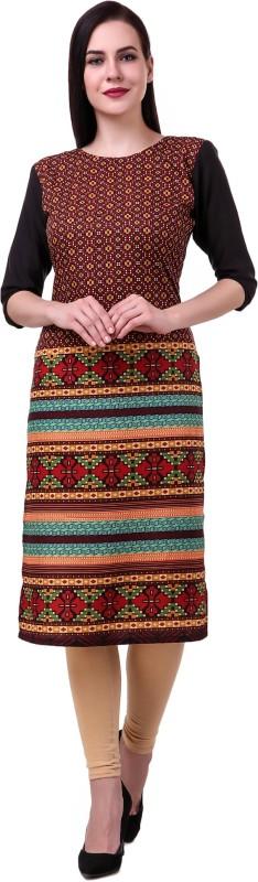 SHREE B K FASHION Casual Printed Women Kurti(Multicolor)