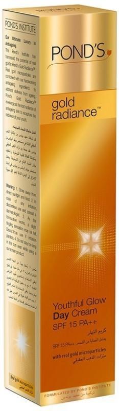Ponds Gold Radiance Youthful Glow Day Cream SPF15 PA++ 50gm(50 g)
