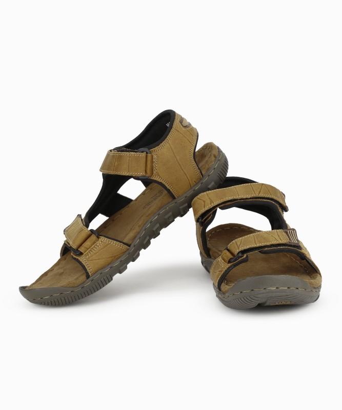 Woodland Men CAMEL Sandals