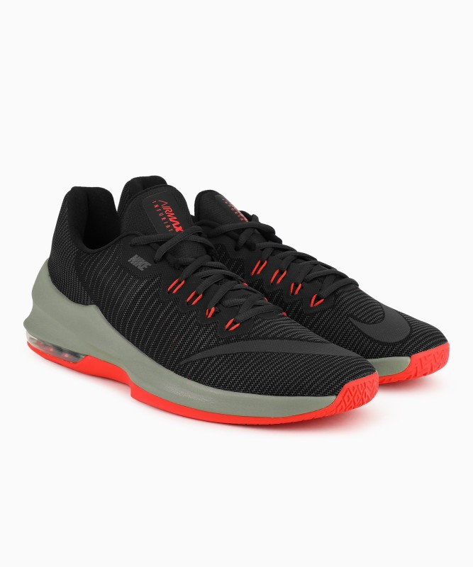 Nike AIR MAX INFURIATE 2 LOW Basketball Shoe For Men(Black)