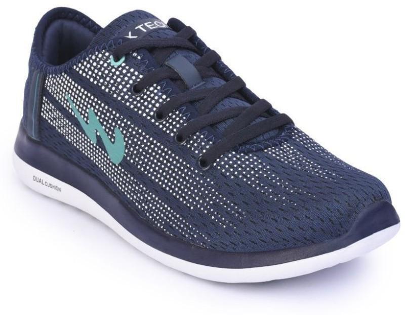 Campus Battle Blk/R.Blu Running Shoes For Men(Black, Blue)