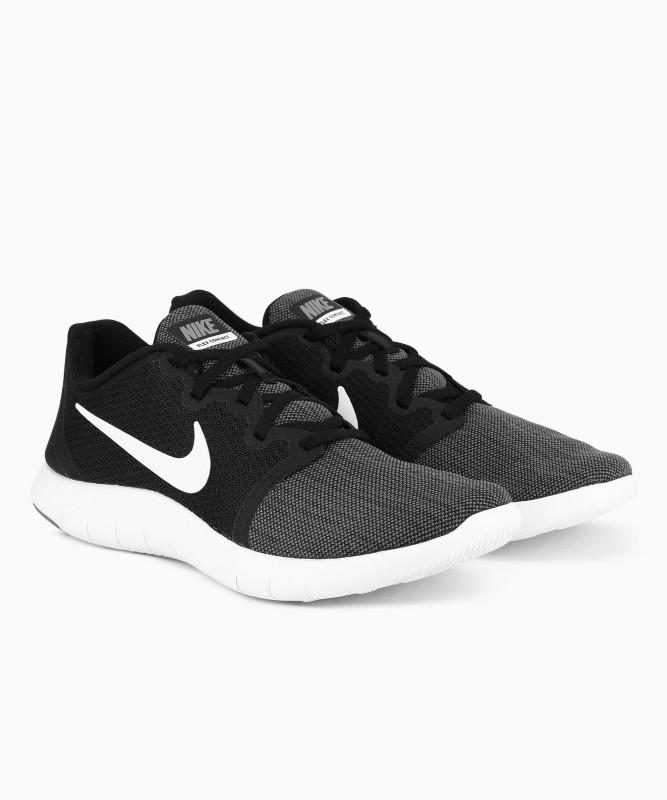 Nike FLEX CONTACT 2 Running Shoe For Men(Black, Grey)
