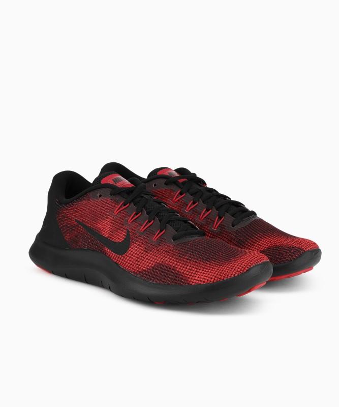 Nike FLEX 2018 RN Running Shoe For Men(Red, Black)