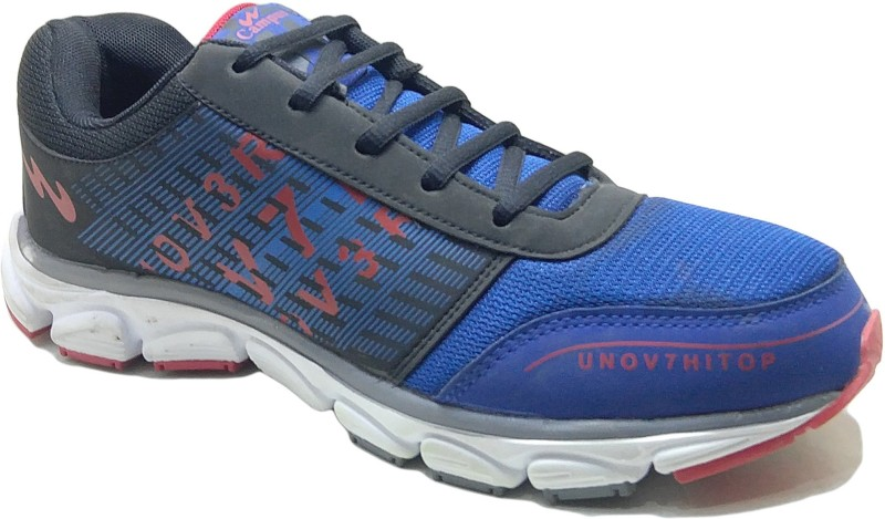 Campus 7227 Blue Red Running Shoes For Men(Blue)