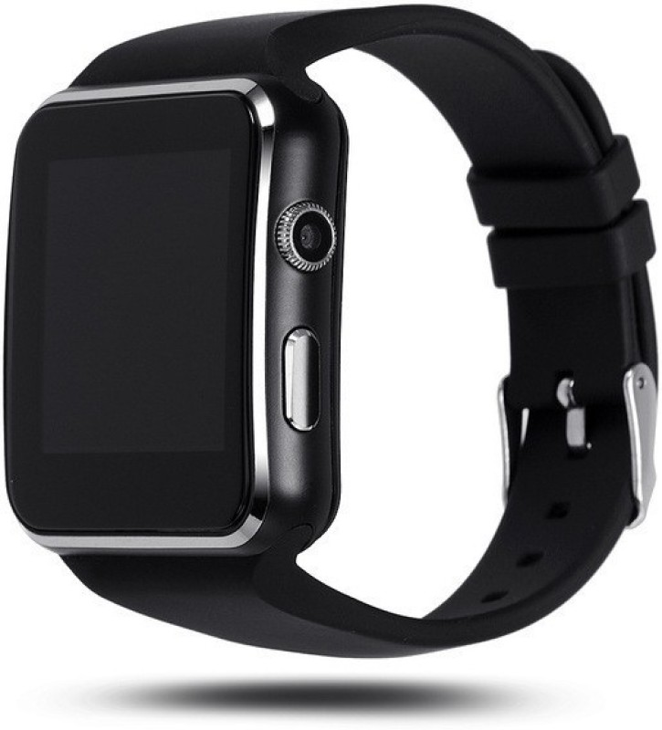 HBNS Compatible Bluetooth Certified Smart Phone Watch | X6 Wrist Watch Phone SIM Card Support | Hot Fashion | New Arrival | Lowest Price | Apps like Facebook and Whatsapp | Read Message or News | Sports | Health | Pedometer | Sedentary | Remind & Sleep Monitoring | Better Display | Loud Speaker | Mi