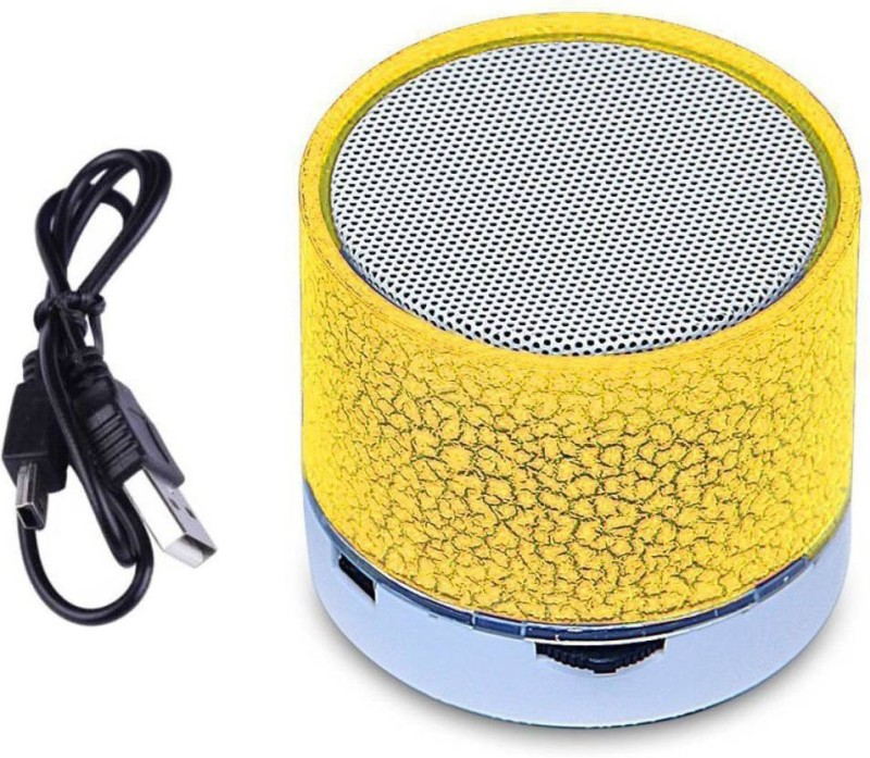 LIFEMUSIC New larger 45mm driver delivers highs for sound all phone/ laptop/tablet pc suppory mini micro card WIRELESS/BLUETOOTH SPEAKER WITH DISCO LED LIGHT,DEEP BASS Stereo Portable Wireless Rechargeable Led LIGHT Bluetooth Speakers S10 With Calling Functions And Superb Sound Car/laptop/home/outdo