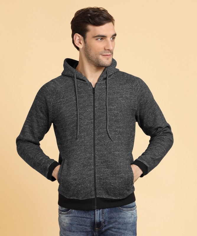 Peter England Full Sleeve Solid Mens Sweatshirt