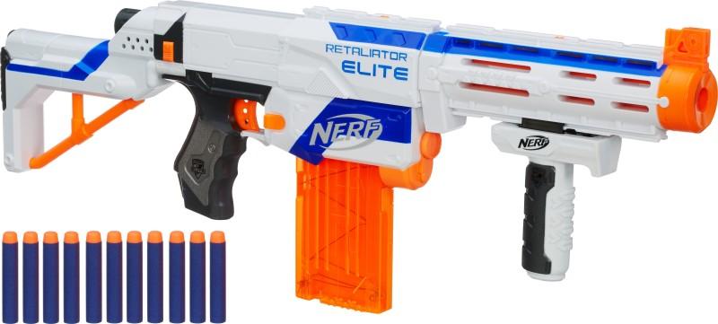 Nerf N-Strike Elite Retaliator Blaster(Multicolor)