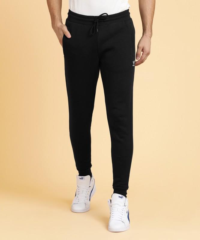 ADIDAS ORIGINALS Solid Men Black Track Pants