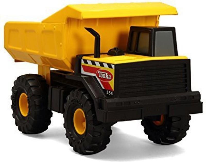 Funrise Tonka Classic Steel Mighty Dump Truck Vehicle(Multicolor)