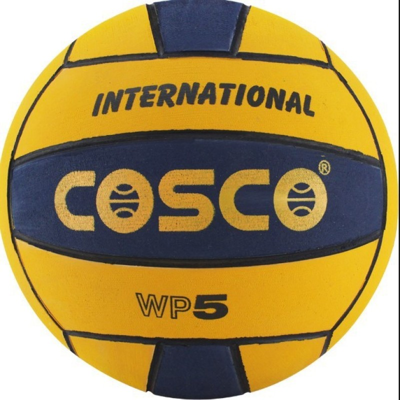 Cosco Waterpolo INTERNATIONAL ( Color on Availability) Size-5 Water Polo Ball(Pack of 1, Multicolor)