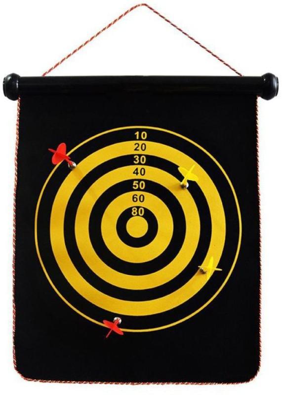 INDMART Latest Multicolor Darts Game 12 inch Dart Board(Multicolor)