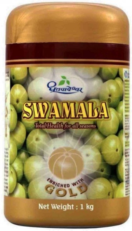 Dhootpapeshwar Swamala 1kg, Enriched with Gold(1 kg)
