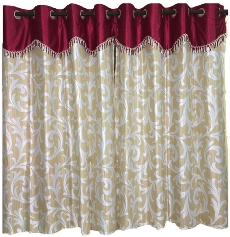 check MRP of cream curtains C-Square Curtains Corner