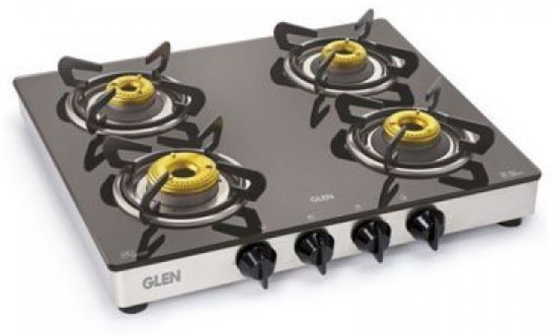 GLEN Steel Manual Gas Stove(4 Burners)
