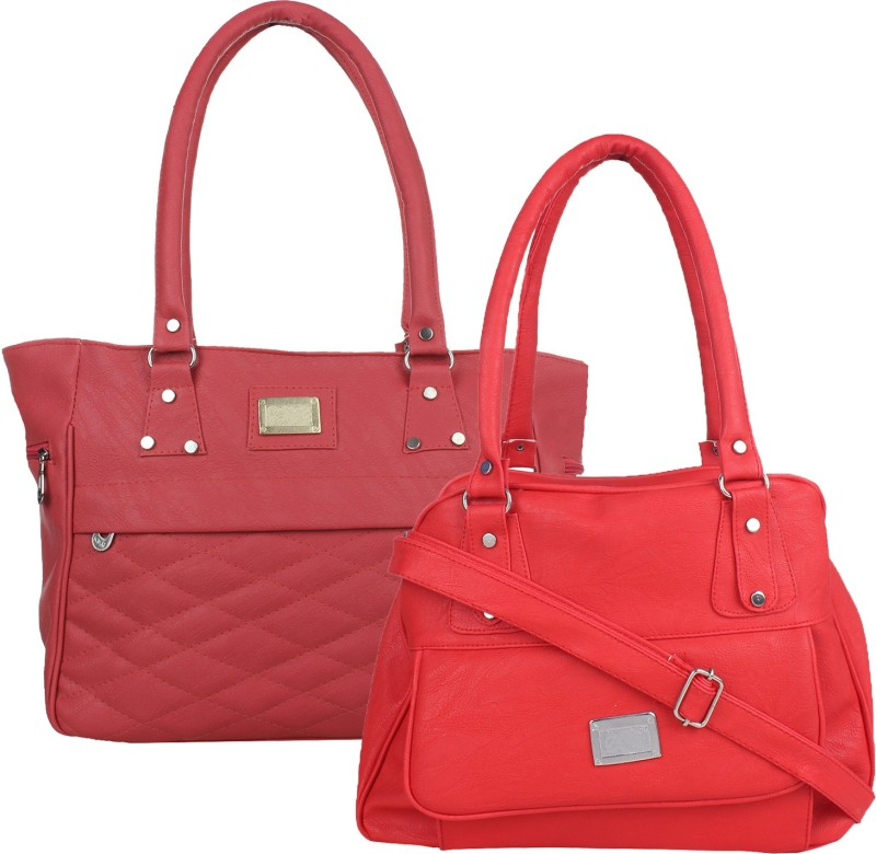 Fillincart Women Red, Pink Hand-held Bag